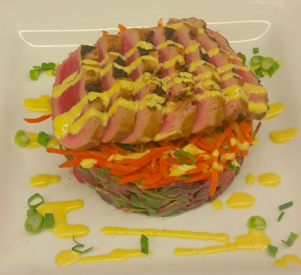 Grilled Ahi Tuna